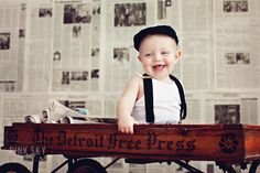 Inspiration of the Week: Use of Backgrounds by Pink Sky Photography on http://inspiremebaby.com