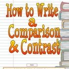 """""""How to Write a Comparison & Contrast"""" focuses on writing a four-paragraph biographical essay.    There is a writing model from which students ..."""