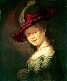 Рембрандт, Саския де Брау