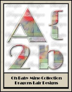 Oh Baby Mine Collection - Alphabet