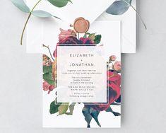 ideas wedding invites bohemian flower for 2019 Dyi Wedding Invitations, Invites, Wedding Pom Poms, Wedding Checklist Printable, Diy Wedding, Garden Wedding, Wedding Ideas, Gatsby Wedding, Trendy Wedding