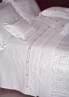 Fine Linens, Luxury Bedding, Duvet, Design Inspiration, Embroidery, Elegant, Beds, Home Decor, Style