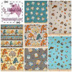 Something New!  Cute Critters fabric by Wilmington features cute woodland animals  #theozmaterialgirls #tomgfabric #quilting #sewing #fabriclove #whatwouldyoucreate #fabricaustralia #handmadeinau #fabricinspiration #wilmingtonfabric