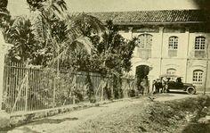 Parque Murillo de Ibagué en 1918.