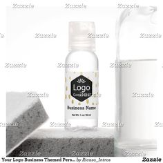 Your Logo Business Themed Personalized Hand Saniti Hand Sanitizer Business Products, Travel Size Products, Scented Hand Sanitizer, Travel Size Bottles, Hand Hygiene, Active Ingredient, Wedding Reception, Aqua, Alcohol