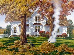 'Autumn Leaves' by John Sloane
