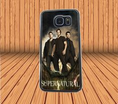 Supernatural Dean And Sam Winchester for Samsung Galaxy S6 Hard Case Back Cover #designyourcasebyme