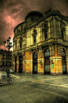 Arriaga theater in Bilbao by Asi75er, via Flickr Basque Country, Spain Teatro Arriaga, Bilbao.