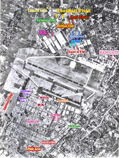 WWII Air Force Bases In Japan US Air Force Base USAF - Us Air Force Bases In Japan Map