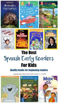 Spanish Early Readers for Kids - Bilingual Balance