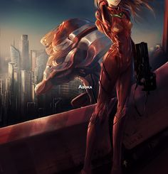 come dawn - Asuka Langley - Eva Unit 2