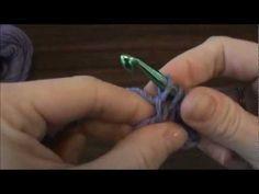 Crochet Pacifier Clip / Holder Pattern Tutorial - Right Handed