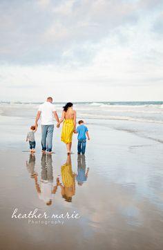 beach photo session {family}