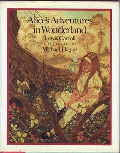 Alice's Adventures in Wonderland, written by Lewis Carroll