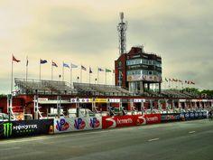 The Grandstand  Isle of Man TT 2015