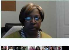 First All-Women Google+ hangout that was held in the Summer of 2011. Can you name any of these women.