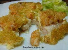 Hoy os traemos una receta de pescado muy rica y fácil de preparar.  LOMOS DE MERLUZA AL HORNO http://hornodelena.blogspot.com.es/2013/11/receta-de-merluza-al-horno.html