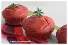 Muffins à la betterave rouge (Dès 12 mois)