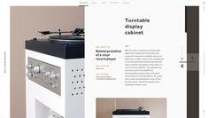 Studio Playground likes this website: http://www.guillaumebouvet.com/