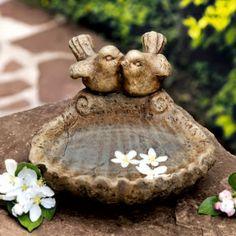 Vogelbad Hochzeitsglück günstig online kaufen - MEIN SCHÖNER GARTEN