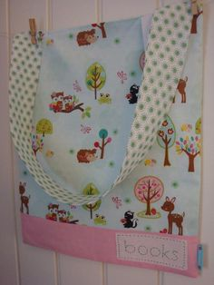 Forest Friends Library Bag