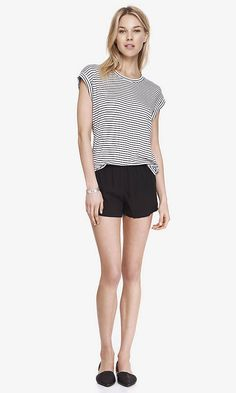3 INCH SOFT SHORTS - BLACK | Express