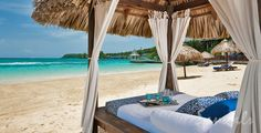 Private Cabanas by the Beach http://taylormadetravel.agentarc.com  taylormadetravel142@gmail.com  call 828-475-6227