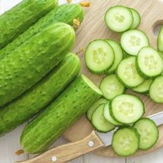 Cucumbers can help calm the skin inflammation that characterizes rosacea.