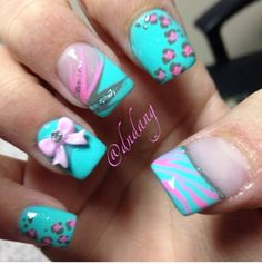 middle finger with white background Dream Nails, Love Nails, Pretty Nails, Colorful Nail Designs, Cute Nail Designs, Toe Designs, Colored Acrylic Nails, Funky Nails, Tips & Tricks