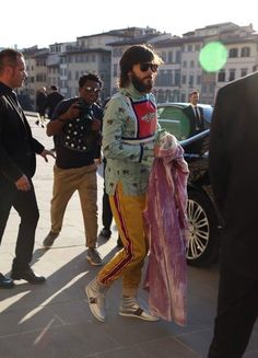 Jared in Italy for Gucci Cruise 2018