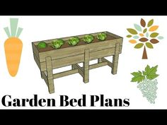 This step by step diy woodworking project is about a waist high raised garden bed plans. I designed this elevated planter box so you can grow vegetables on your patio, deck or balcony. Building a waist high garden bed makes watering easy, as well harvesting (yummy).