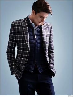 Canali Embraces Sporty Refinement with Ryder Cup Collection
