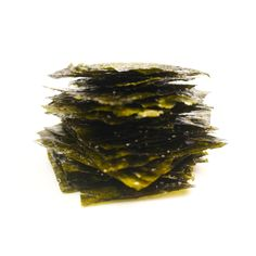 If you haven't had the opportunity to try roasted seaweed yet, you're missing out on a delicious, addicting snack that's wayyyy healthier than potato chips. Roasted seaweed is thin and crispy and packs a lightly salty crunch that will get you hooked after the first bite. Trader Joe's has these snack