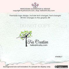 Tree logo design Custom Premade Logo Design doodle by helloaimi