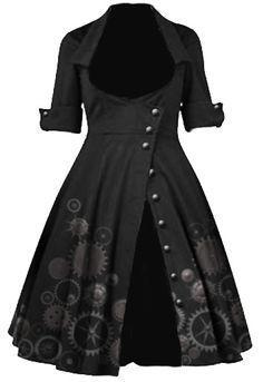 Resultado de imagen de steampunk dress