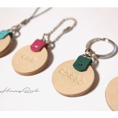 Leather Art, Leather Gifts, Laser Cutter Projects, Leather Keyring, Leather Projects, Key Fobs, Leather Accessories, Corporate Gifts, Fabric Scraps