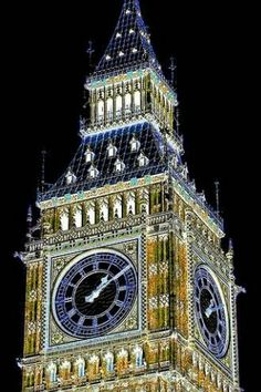 Londres Torre Elizabeth Big Clocks, Cool Clocks, Train Station Clock, Tower Clock, Outdoor Clock, Unusual Clocks, Time And Tide, Somewhere In Time, Time Stood Still