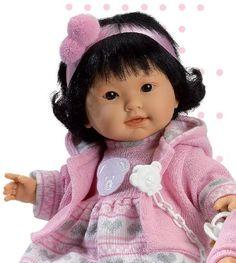 "Babypuppe ""Guo"" - 42 cm"