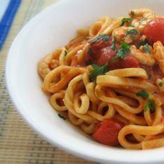 scialatielli con gamberetti #italianfood #italianrecipes #foodphotography #foodporn #foodideas #seafood