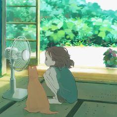 Pretty Art, Cute Art, Aesthetic Art, Aesthetic Anime, Japon Illustration, Arte Obscura, Anime Scenery Wallpaper, Wow Art, Kawaii Art