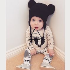100%cotton cute fall baby outfit