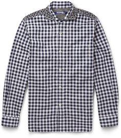 Junya Watanabe Patchwork Cotton Shirt