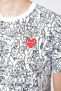 Matt Groening & Rei Kawakubo collaborate