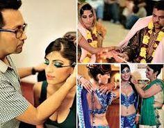 Resultado de imagen para maquillaje hindú