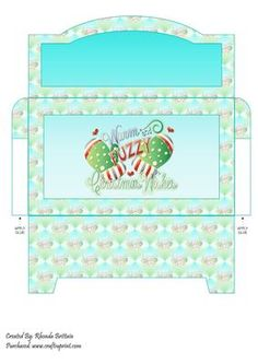 Warm and fuzzy Christmas Wishes Money Wallet on Craftsuprint - Add To Basket!