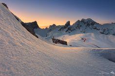 A kind of magic - Passo Giau | photo by Tommaso Meneghin #PassoGiau #Cortina #Snow #Sunset #Dolomiti #Dolomites #Dolomiten #Dolomitas #DolomitiHeart #DoloMitici