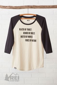 We're joining the rule breakers at Wildfang to make a bold statement. 72% of the profits from the tee go to create more opportunities for women to get outdoors. #ForceOfNature