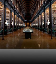 City of Literature. Trinity Library, Dublin.