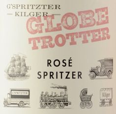 Rosé Spritzer by Domaines Kilger: GLOBETROTTER - THE Stylemate