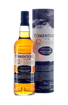 Tomintoul 12 Year Old single malt whisky available from Whisky Please.